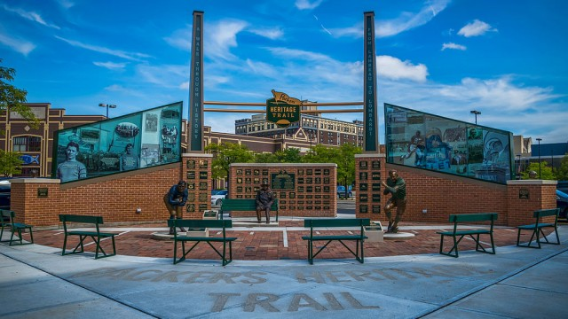 Packers Heritage Trail, Green Bay