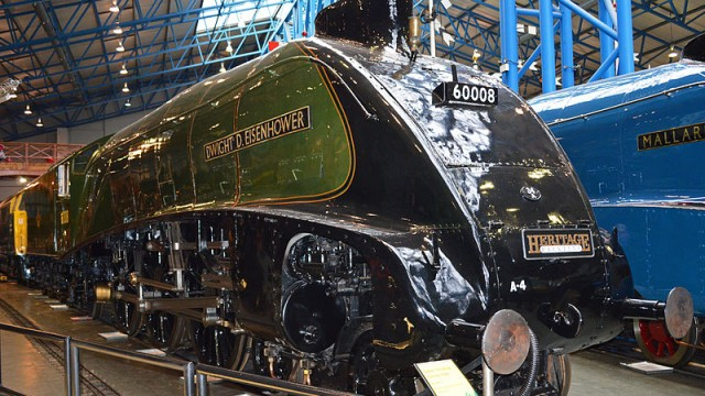 Eisenhower Locomotive, National Railroad Museum, Green Bay